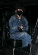 Miley Cyrus Hot Pics in New York rocking a double denim look HD 3