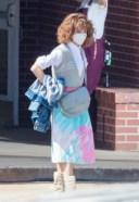 Natalia Dyer Seen filming Stranger Things Season 4 in Atlanta
