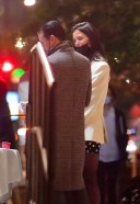 Katie Holmes Pictures Walking to late night dinner in New York HD