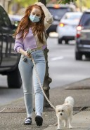 Madelaine Petsch Hot And Cute Photos With her dog in Vancouver