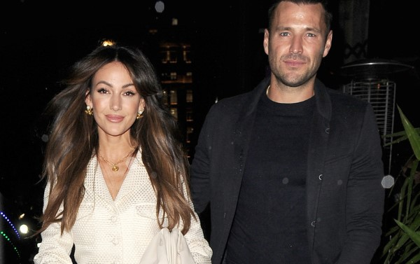 Michelle Keegan Hot in white At Corinthia Hotel in London 2nd October 2020