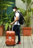 Shilpa Shetty & Meezaan Jaffrey latesh Photos Of Traveling To Manali For Hungama 2 Shoot
