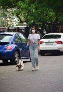 Sophie Chowdhary Spotted At Bandra HD Photos 13