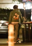 Harry Styles Zoey Deutch seen exiting a restaurant after a dinner date in Los Angeles 3