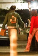 Harry Styles Zoey Deutch seen exiting a restaurant after a dinner date in Los Angeles
