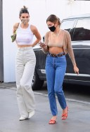 Hailey Bieber and Kendall Jenner Hot Photos Of shopping trip together in Los Angeles HD