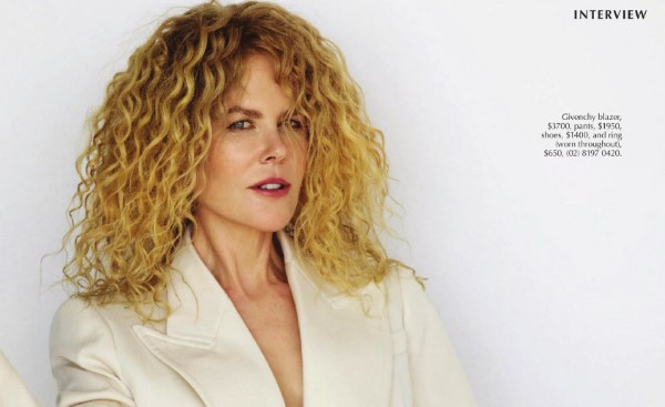 Nicole Kidman Marie Claire Australia November 2020