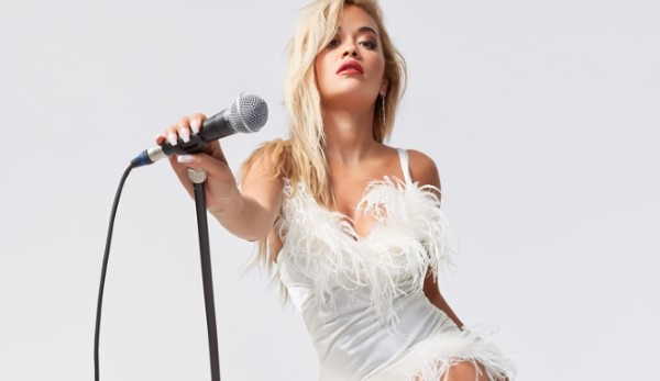 Rita Ora models a new shoe collection for ShoeDazzle HD