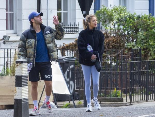 Delilah Hamlin seen leaving Gym