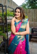 Nidhi Agarwal Beautifull Photos in Saree HD 3
