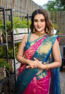 Nidhi Agarwal Beautifull Photos in Saree HD