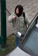 Sandra Bullock Goes through the safety protocols while filming her latest film in Vancouver