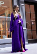 Sarah Jessica Parker Photoshoot at SJP Shoe Store in New York