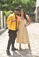 Nora Fatehi and guru Randhawa Hot Pics at Tseries office in andheri HD 3