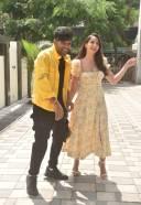 Nora Fatehi and guru Randhawa Hot Pics at Tseries office in andheri HD