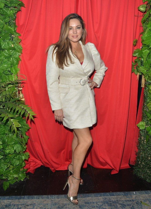 Kelly Brook Cabaret Show at Proud Embankment in London
