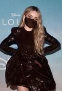 Sabrina Carpenter CLOUDS premiere at the Disney Drive-In Festival in Santa Monica
