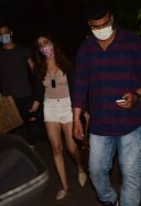 Yami Gautam Spotted At Krome Studio In Bandra HD Photos