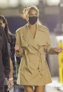 Bella Hadid shows off her ample cleavage while out in New York