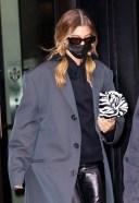 Hailey Bieber seen out and about in New York City 3