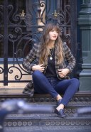 Rocky Barnes is spotted on a photoshoot in New York City 3