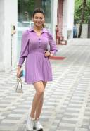 Urvashi Rautela Hot and Stylish Pics At Tseries Office In Andheri HD Photo