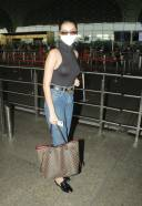 Kriti Sanon Rajkummar Rao & Tara Sutaria Spotted Airport HD Photo