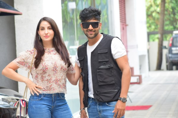 Nora Fatehi Spotted At T- Series Office HD Photos