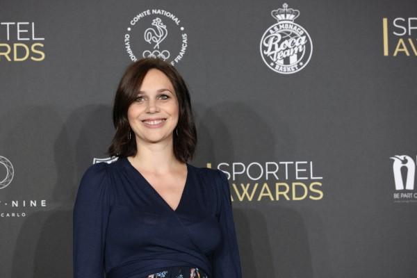 Nathalie Pechalat Sportel Awards Gala at the Grimaldi Forum in Monaco on October 27