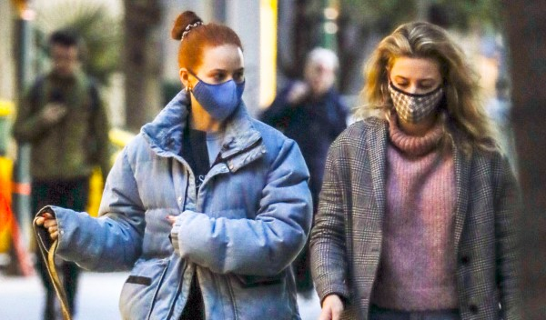 Madelaine Petsch Is spotted walking her dog in Vancouver