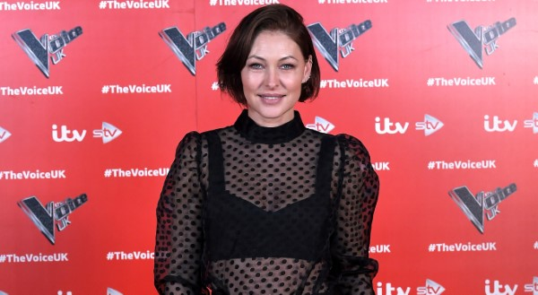 Emma Willis The Voice UK Photocall Series 4 in Manchester