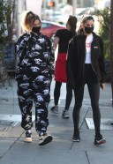 Hailey Bieber seen out and about in West Hollywood