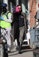 Irina Shayk out and about in New York City