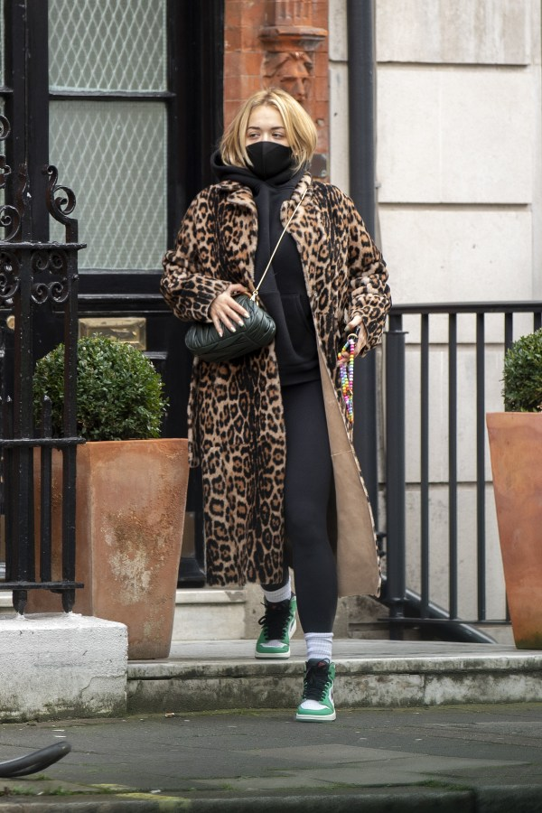 Rita Ora seen out and about in central London