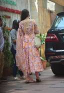Shraddha Kapoor Spotted At Juhu in Pink Dress 3