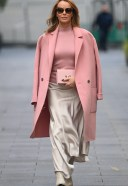 Amanda Holden Seen at Global Radio in London