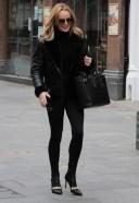 Amanda Holden Seen leaving Global Studios
