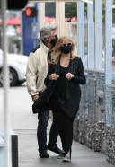 Goldie Hawn And husband Kurt Russell mask up as they go out for a seafood