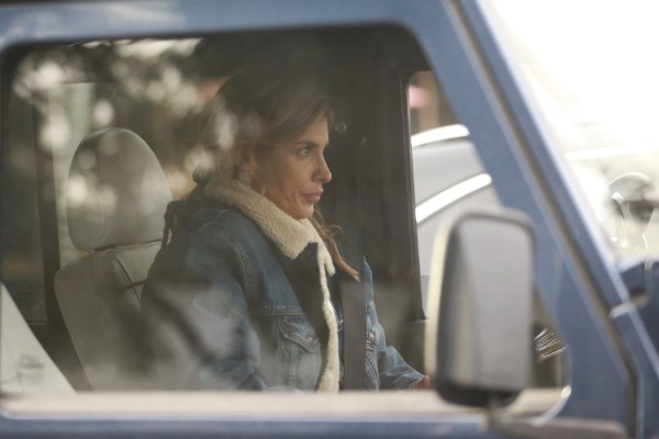 Elisabetta Canalis Goes shopping with her daughter