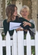 Julianne Hough Spotted leaving her mothers house in Studio City