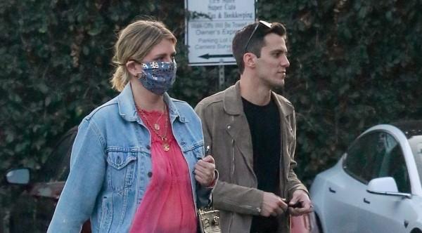 Mischa Barton And her boyfriend Gian Marco Flamini