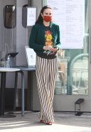 Rumer Willis Looks flawless while buying coffee in West Hollywood