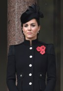 Catherine Duchess of Cambridge Members of The Royal Family attend the Remembranc 23