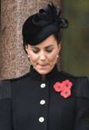 Catherine Duchess of Cambridge Members of The Royal Family attend the Remembrance