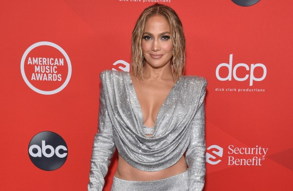 Jennifer Lopez American Music Awards at the Microsoft Theater