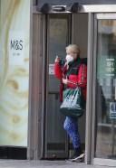 Denise Van Outen Seen shopping in Chelmsford