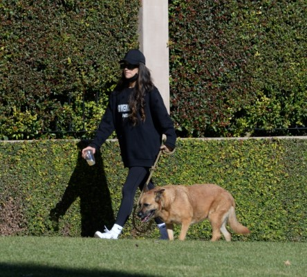 Shay Mitchell Out for a family stroll in Los Angeles