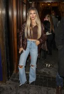 Chloe Sims Seen at the Press Night for A Christmas