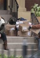 Elisabeth Moss Films scenes for season 4 of The Handmaid's