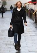Jenni Falconer Seen arriving at Global Studios
